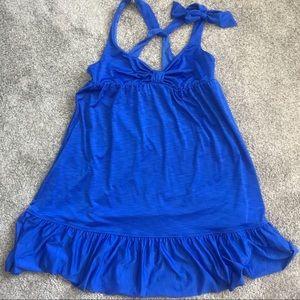 Betsey Johnson Swim - Betsey Johnson blue layer cake swim cover up.